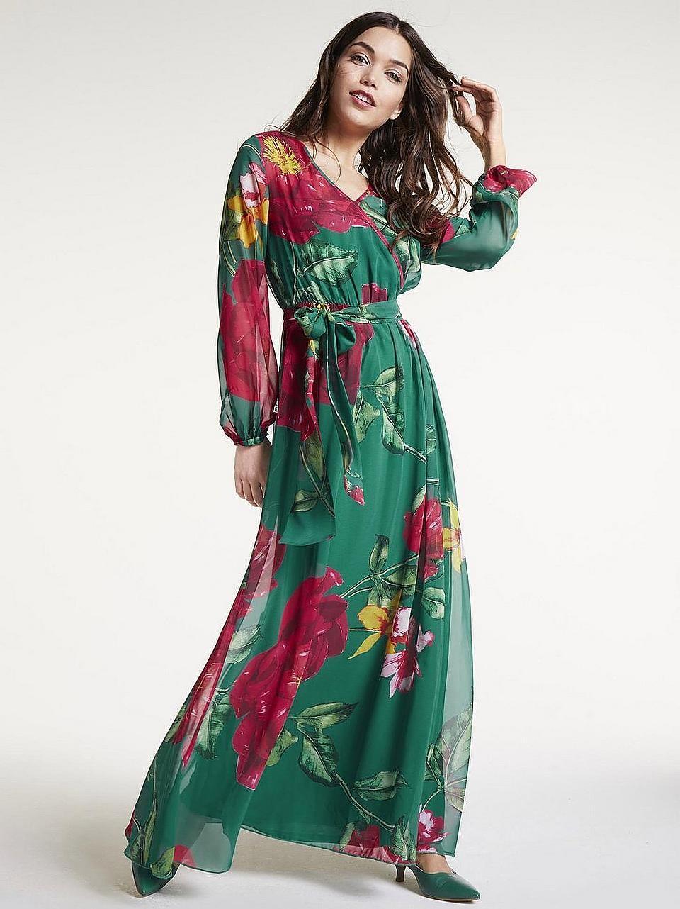 heine STYLE Abendkleid mit Unterkleid online bei in 8