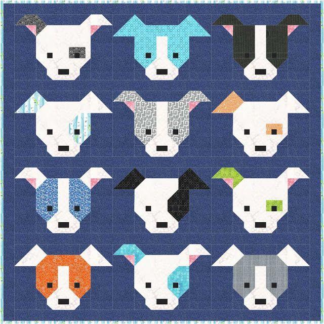 Dog Gone Cute Quilt Along Blog Hop Sew Fresh Quilts Dog Quilts