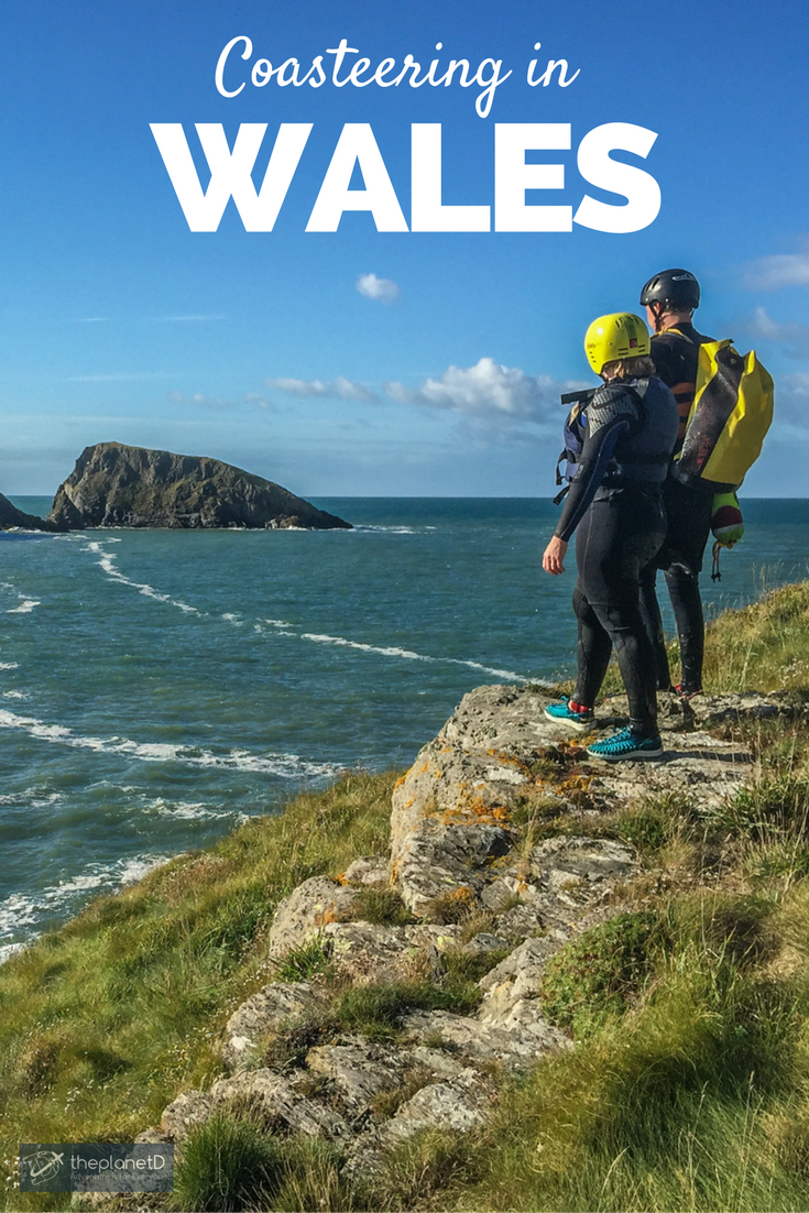 Coasteering Wales - It's not as Scary as you Think   Places