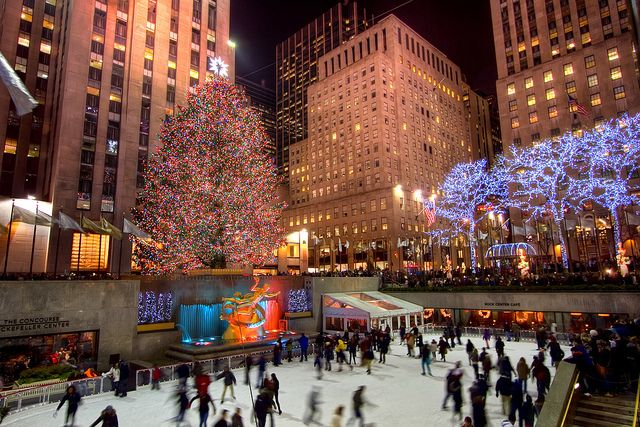 Travel to New York City for Christmas
