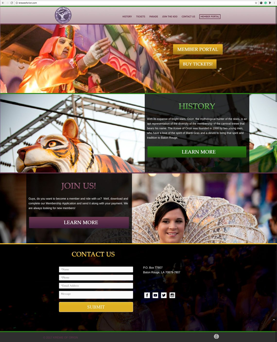 Pin by dezinsINTERACTIVE on Our Design Portfolio Web