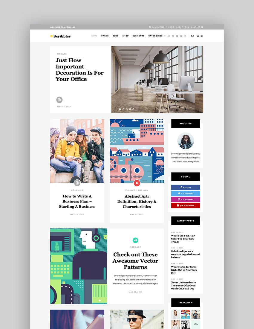 Best Wordpress Magazine Themes For Blog And News Websites In 2020 In 2020 Corporate Web Design News Web Design Magazine Theme Wordpress