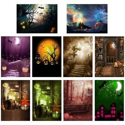 Ad - BW#A Photo Background Backdrop Cloth for Photographic Props Halloween Decoration #backdropsforphotographs