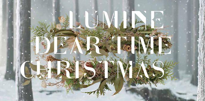 クリスマスデザインのWebキャンペーンサイト2016 - LUMINE DEAR TIME CHRISTMAS