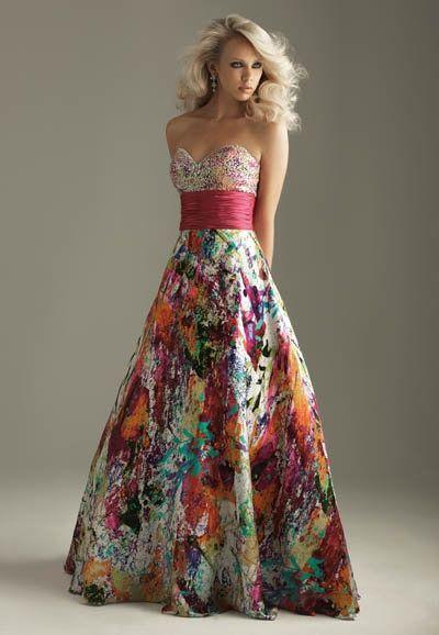 An evening dress 6207