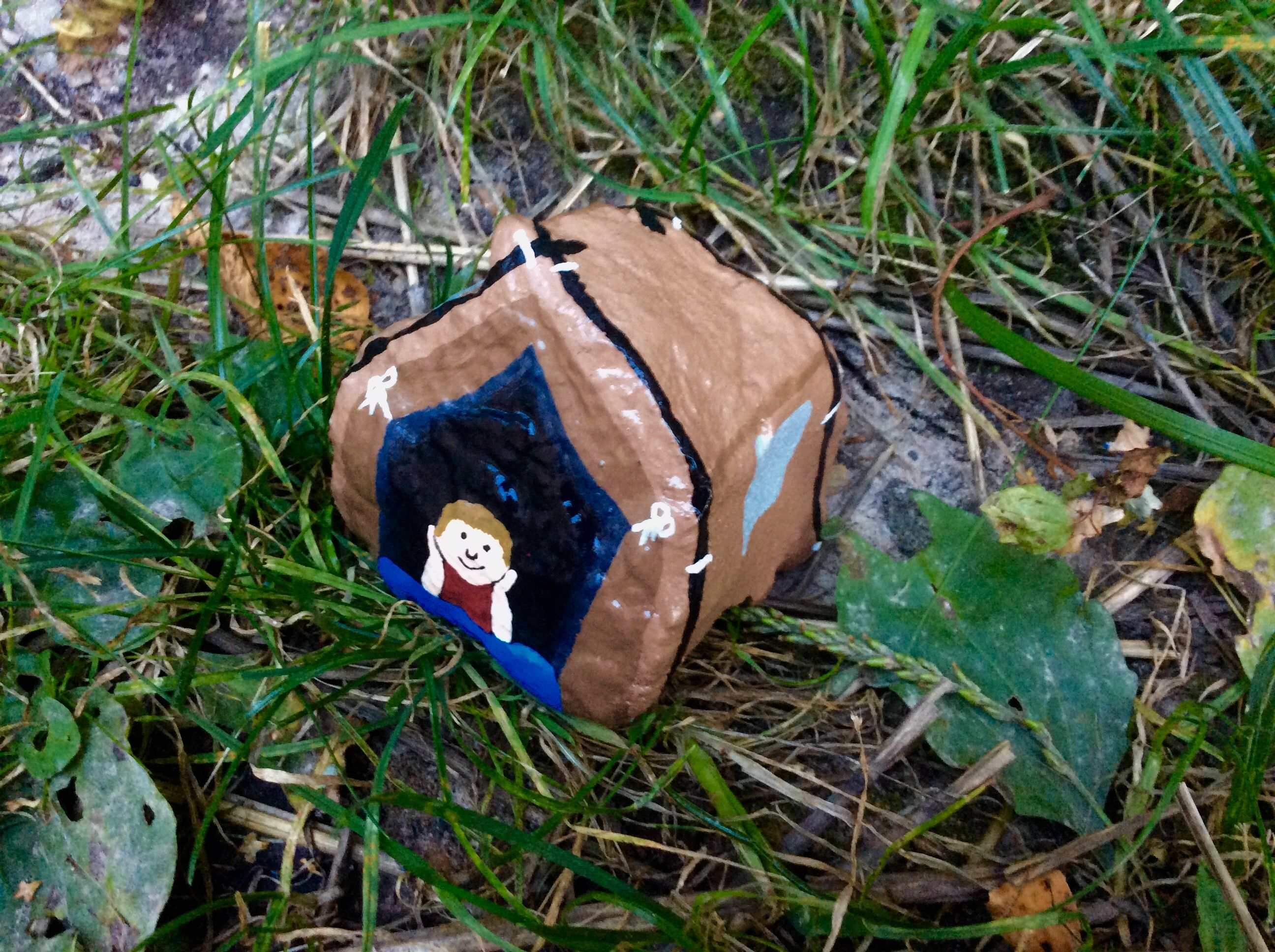 Tent Camping Camp Painted Rocks By Holly N Painted Rocks Kids