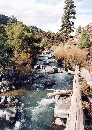 Wild Rivers Recreation Area, New Mexico: Red River