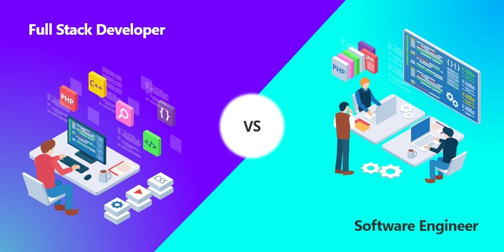 Wondering To Know The Difference Between A Fullstackdeveloper And Softwareengineer Software Engineer Full Stack Full Stack Developer