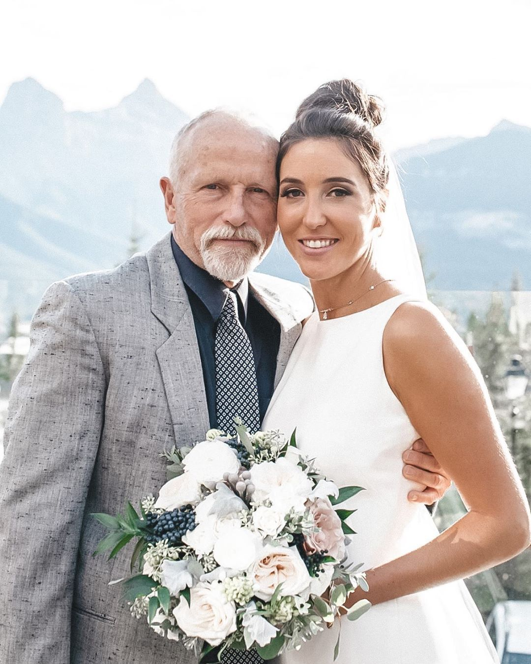 Happy Father's Day! Your strength has really rubbed off one me ❤️ The older I get, the more I realize I am just like you - and for that I am thankful! . . . . #fathersfay #dad #june21 #oldman #fathersdaughter #daughter #fathersday #girldad #fatherfigure #family #sunday #blogger #prouddaughter #dadsday #weddingday #weddingphoto #fashion #weddingdress #choker #weddingflowers #highnecklinedress #openbackdress #weddinggown