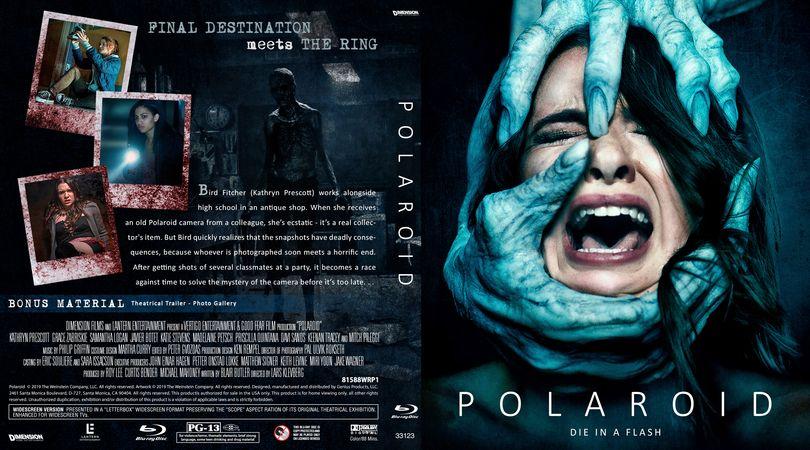 Polaroid 2019 Blu Ray Custom Cover Dvd Cover Design Custom Dvd Dvd Covers