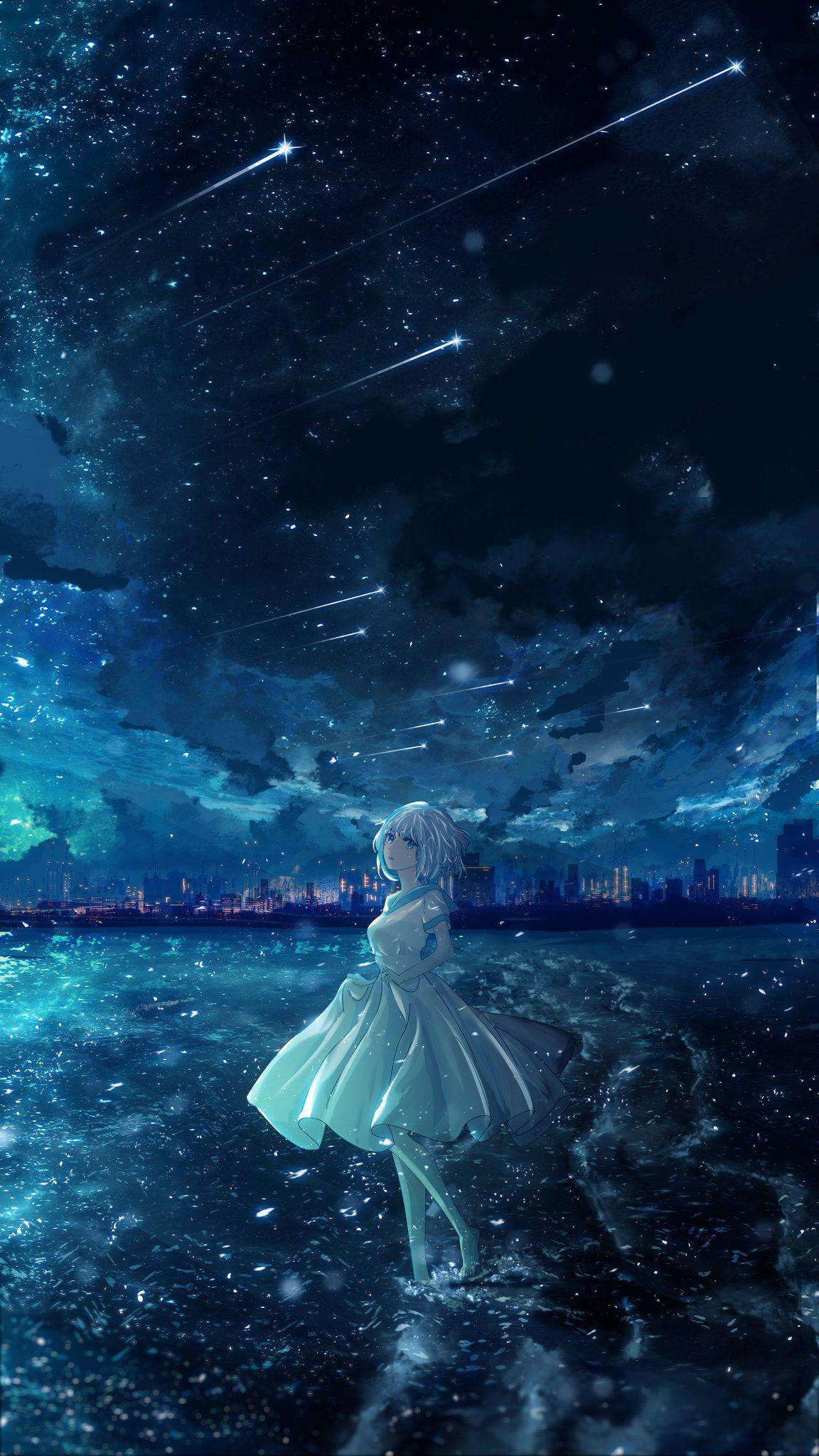 かわいいアニメガール おしゃれまとめの人気アイデア Pinterest Kosei アニメの風景 悲しい イラスト イラスト
