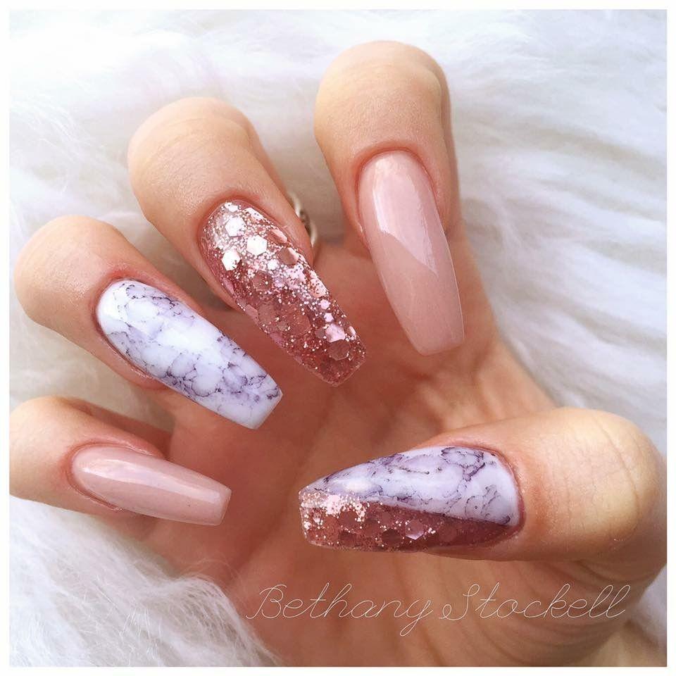 Oliviasavidge | Uña | Pinterest | Encapsulated nails, Acrylics and ...