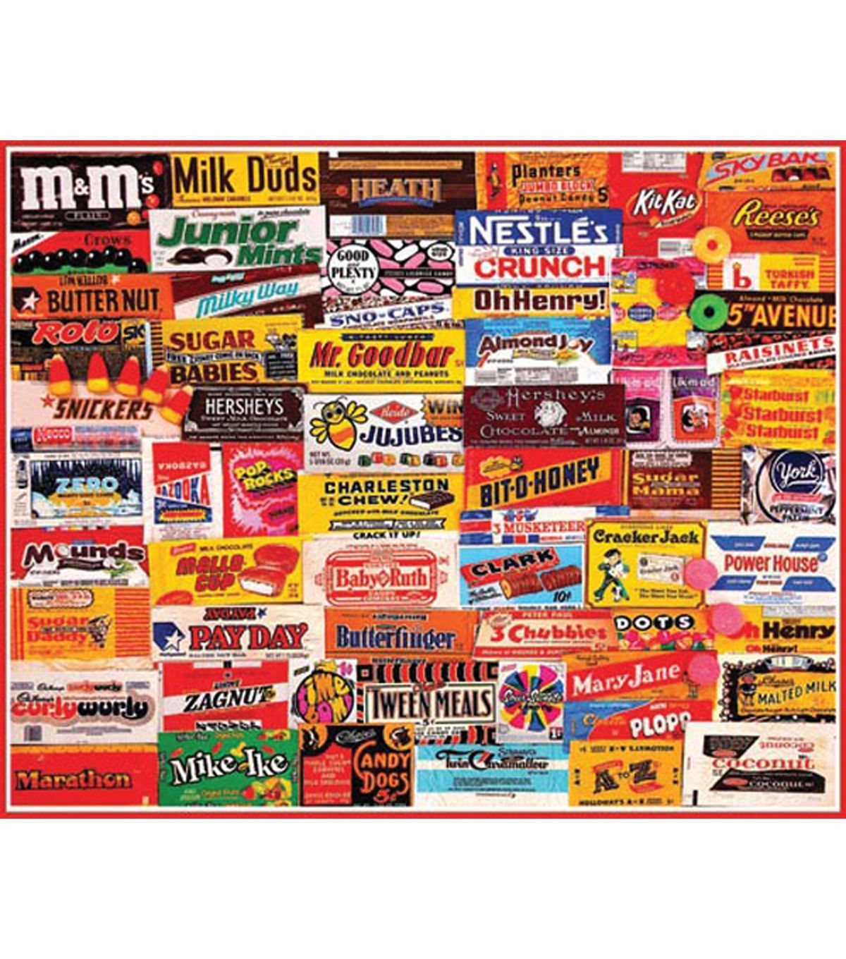CANDY WRPR JIGSAW PUZZLE 1000