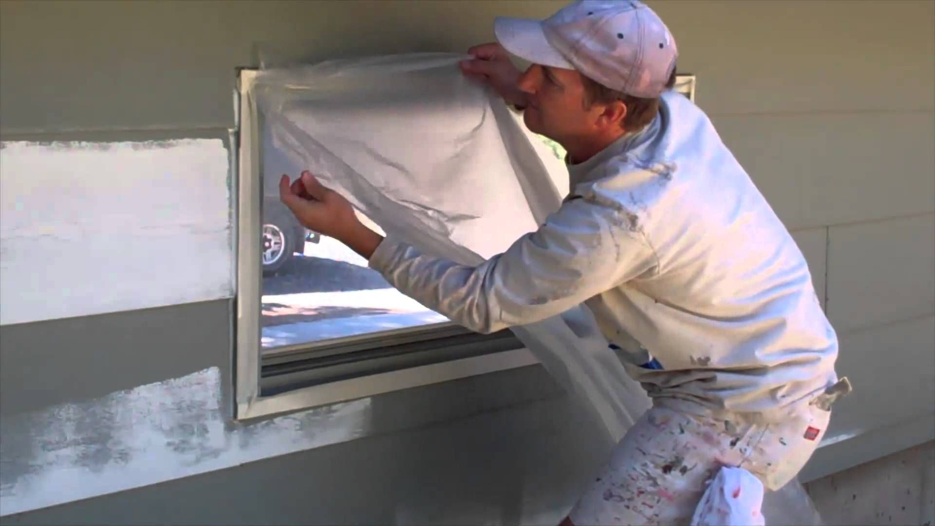 Masking Taping Windows And Doors For Painting Windows And Doors Tape Window Wood Doors Interior