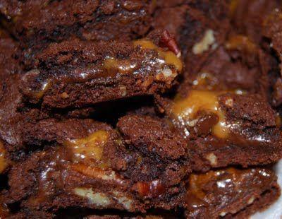 Turtle Brownies! SUPER EASY!!! #turtlebrownies Turtle Brownies! SUPER EASY!!! #turtlebrownies