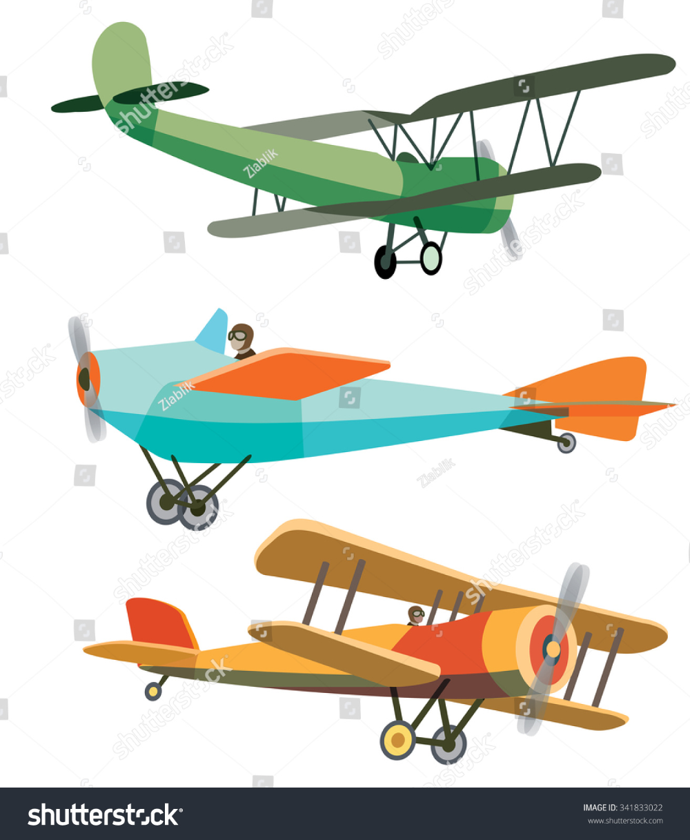 Vintage Airplane Images Stock Photos Vectors Shutterstock In 2020 Airplane Illustration Airplane Vector Retro