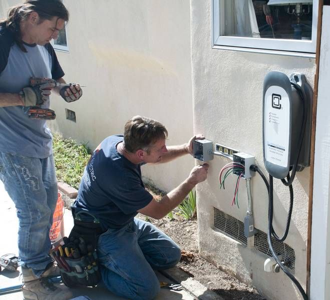 Where To Install Electric Car Charger