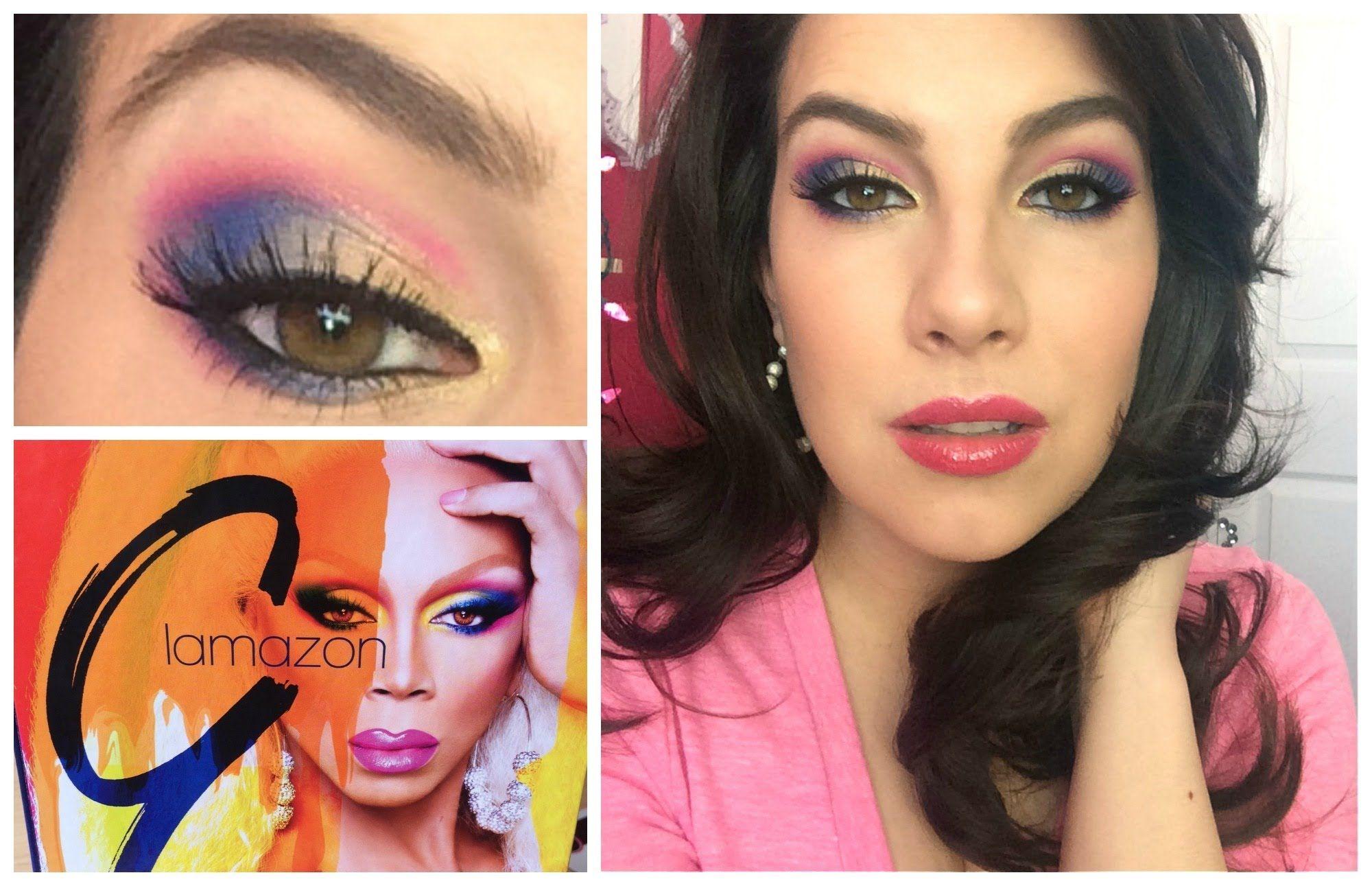 Rupaul Glamazon Kit Review Tutorial Makeup Tutorial Video Makeup Tips Makeup Reviews
