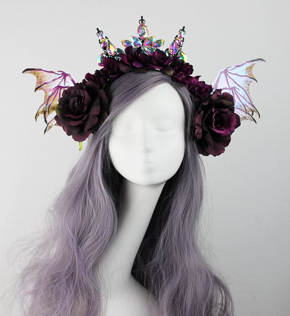 Dark Fairy Crown 8bc167d4be1