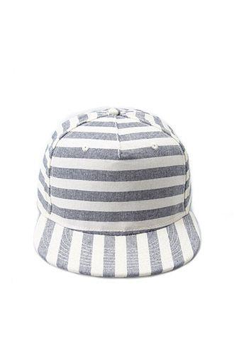 484365989cff4 Striped Baseball Cap