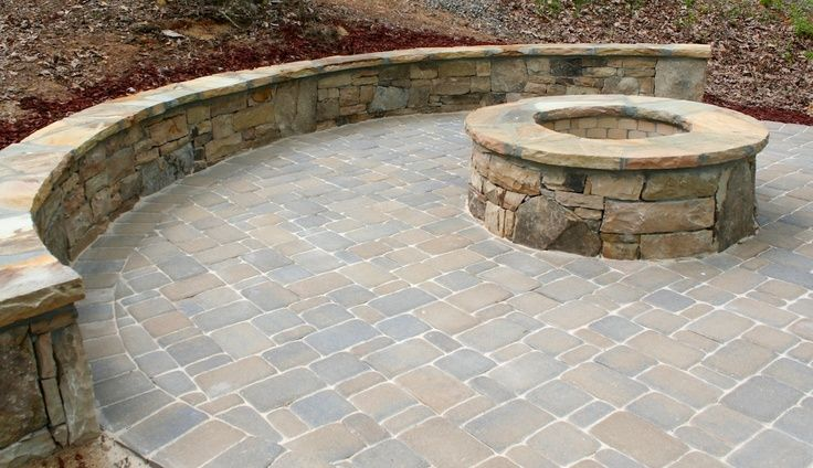 Natural Stone Seating Walls In The Garden Gives You More Rustic