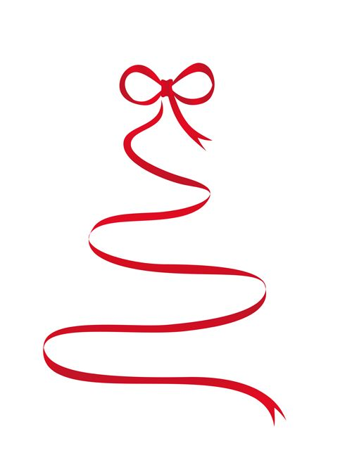 Merry Christmas Ribbon Clipart.Christmas Ribbon Clip Art Related To Clip Art Image A Red