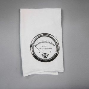 ACS Home & Work Dial Tea Towel