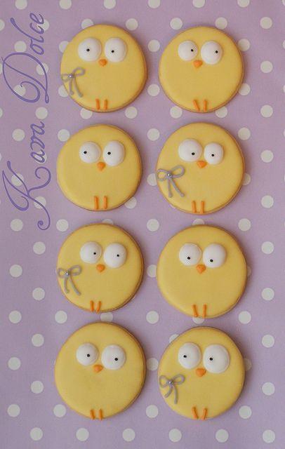 baby chicks kekse pl tzchen rezepte cookies recipes ostern backen ostern essen und. Black Bedroom Furniture Sets. Home Design Ideas