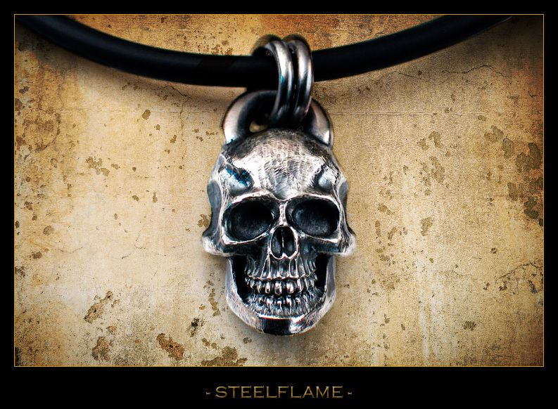 Darkness Skull - Steel Flame