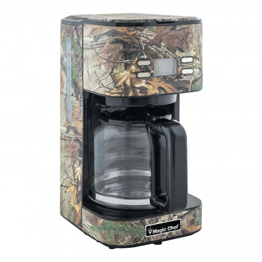 Charming New Magic Chef Realtree Camo Coffee Maker   Available In Spring