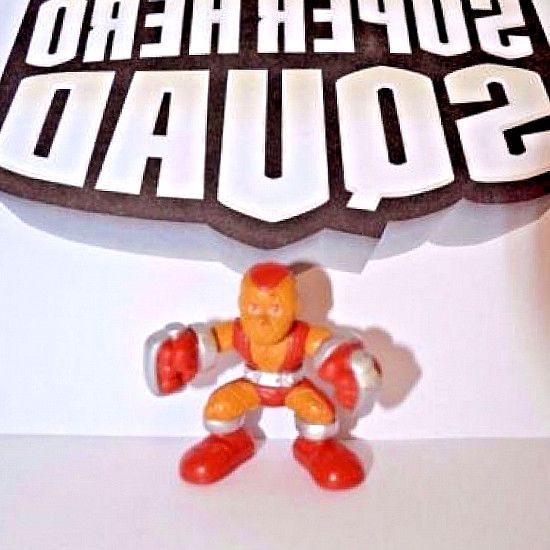 Spider-Man Villain Wave 11 Marvel Super Hero Squad RARE SHOCKER Orange Suit