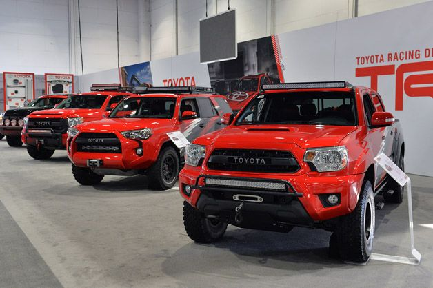 Toyota Is Ready To Compete In The Baja 1000 With A Quartet Of Tuned Models That Are Can Go Just About Anywhere