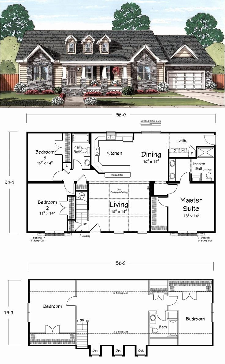 16 Contemporary Cape Cod House Plans in 2020 | Cape cod ...