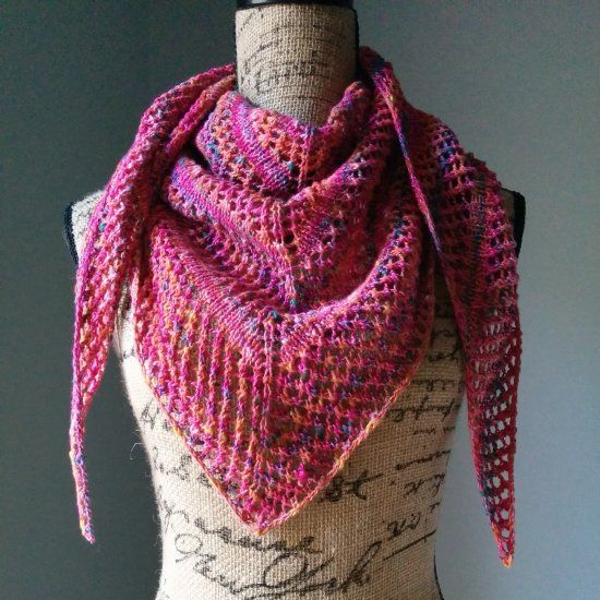 Get Ready For Fall By Knitting Yourself This Awesome Shawl Free