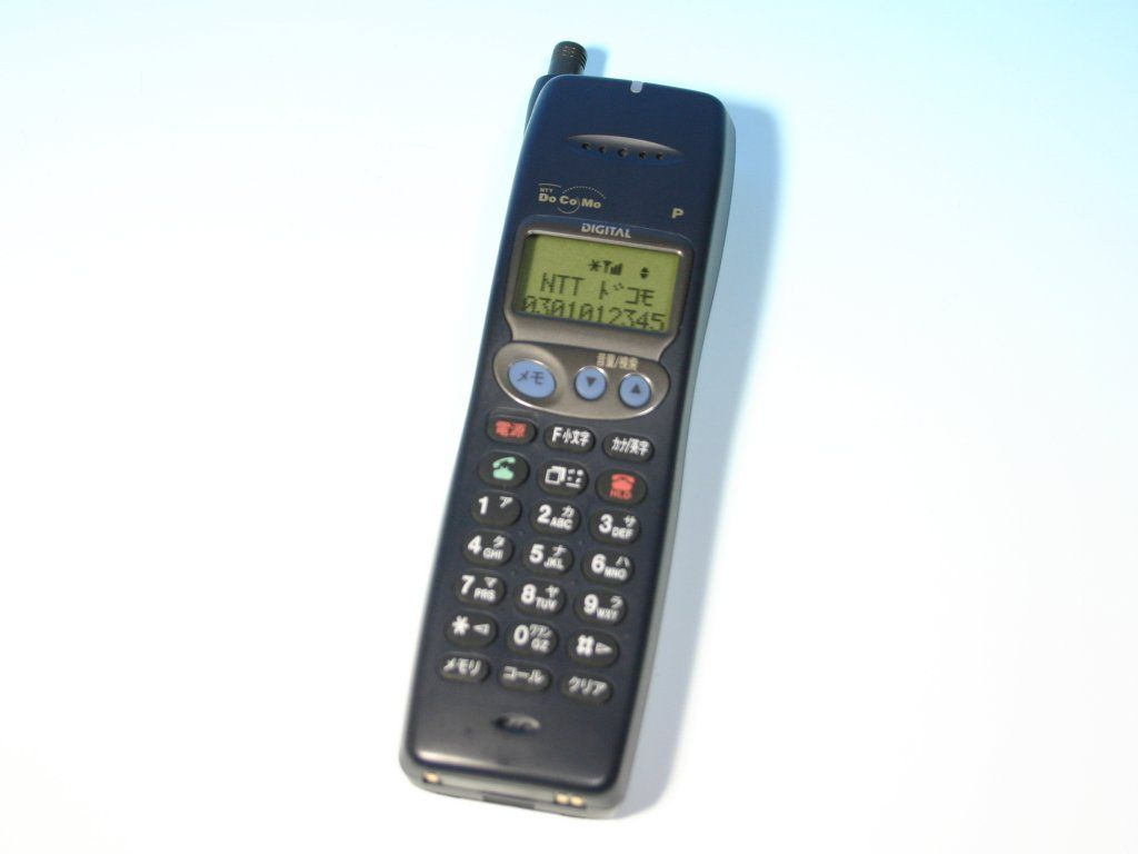 Docomo P101(Panasonic)  My first cell phone  | Gadgets & things
