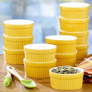 $9 for a set of 12 Ramekins. Perfect for personal chicken pot pies.