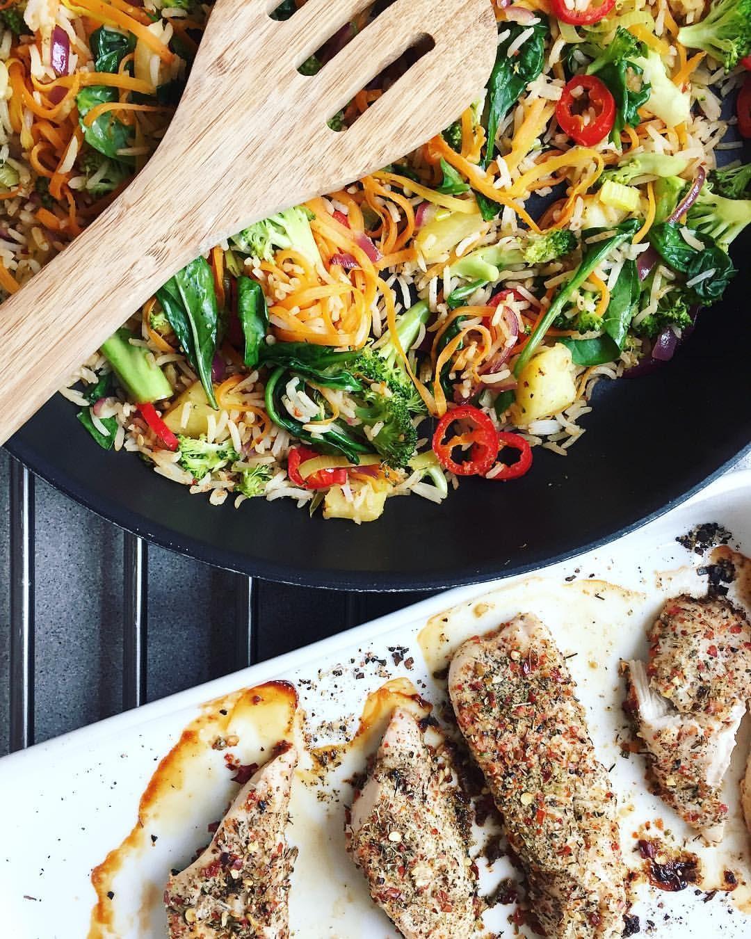 Foodprep Ovnsbakt Kylling Med Grønnsaker Og Ris Foodprep