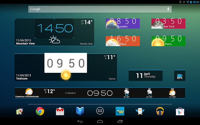 Beautiful Widgets Pro v5.4.1 apk Root your phone