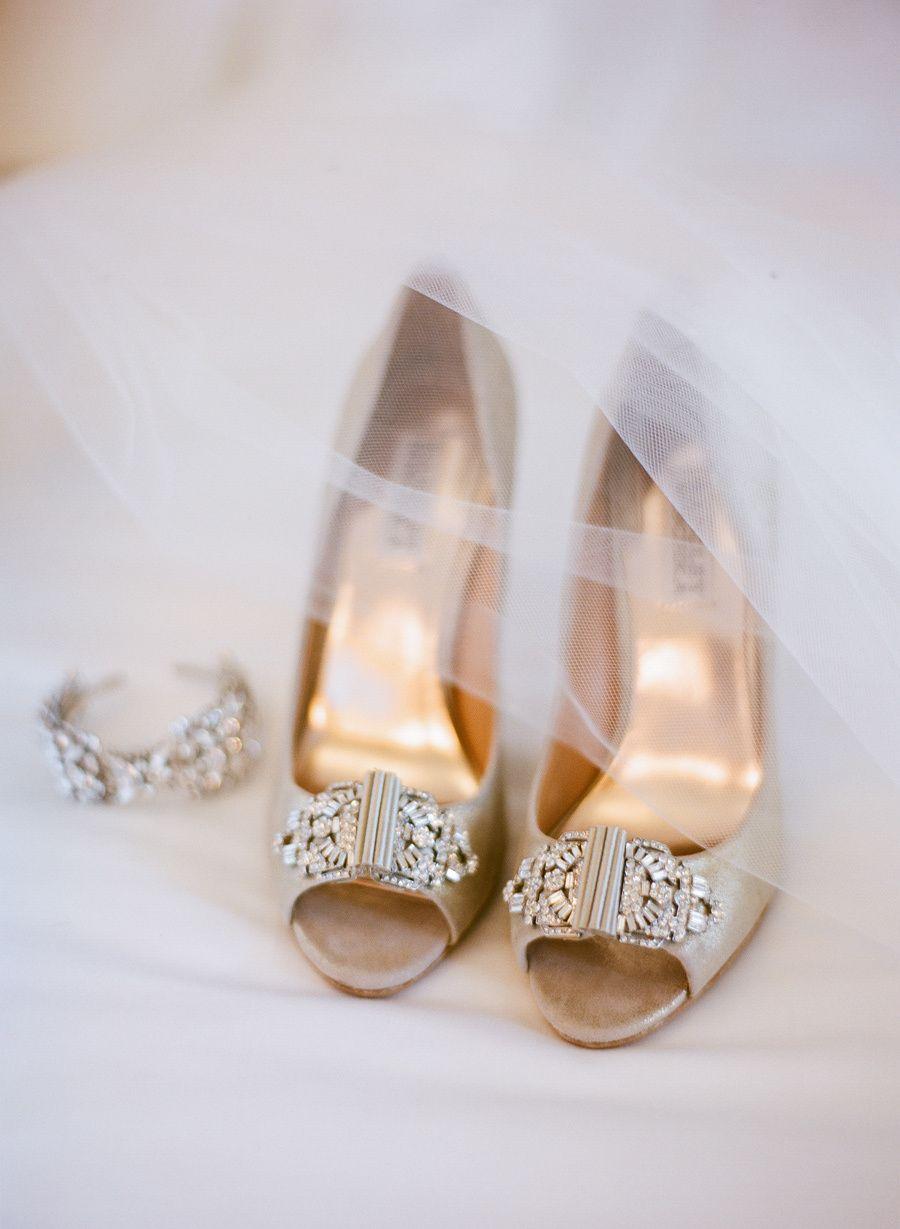 #fashion, #peep-toe  Photography: Josh Gruetzmacher Photography - joshgruetzmacher.com Brides Shoes: Badgley Mischka - http://www.badgleymischka.com/