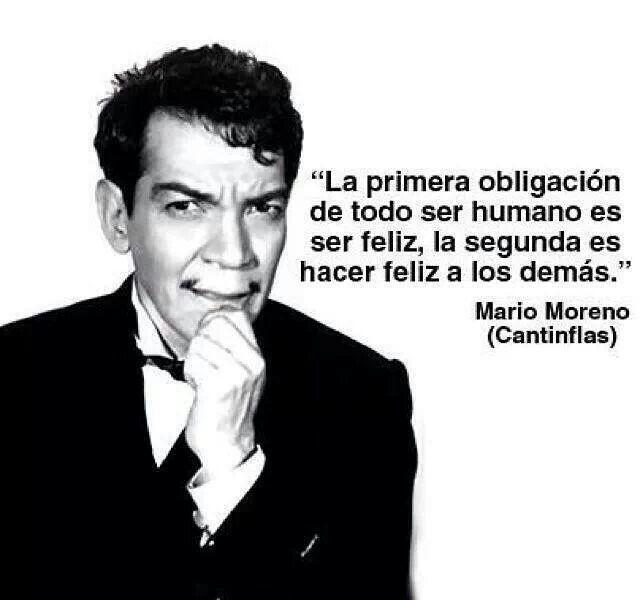 Resultado de imagen para Mario Moreno - Cantinflas frases