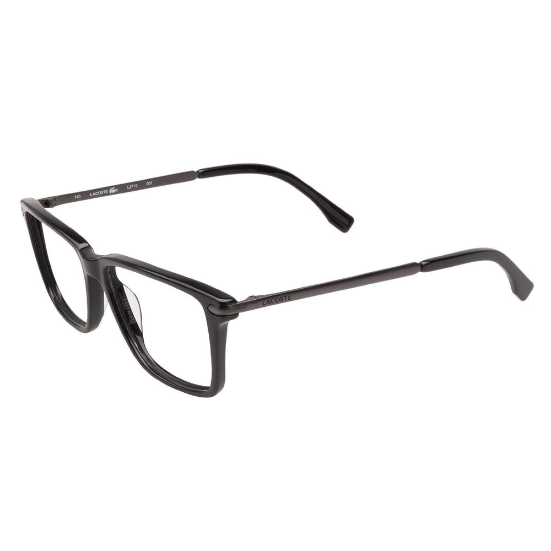 9bba18fc186 Lacoste Men s Eyeglasses L2752 L 2752 001 Black Grey Full Rim Optical Frame  53mm