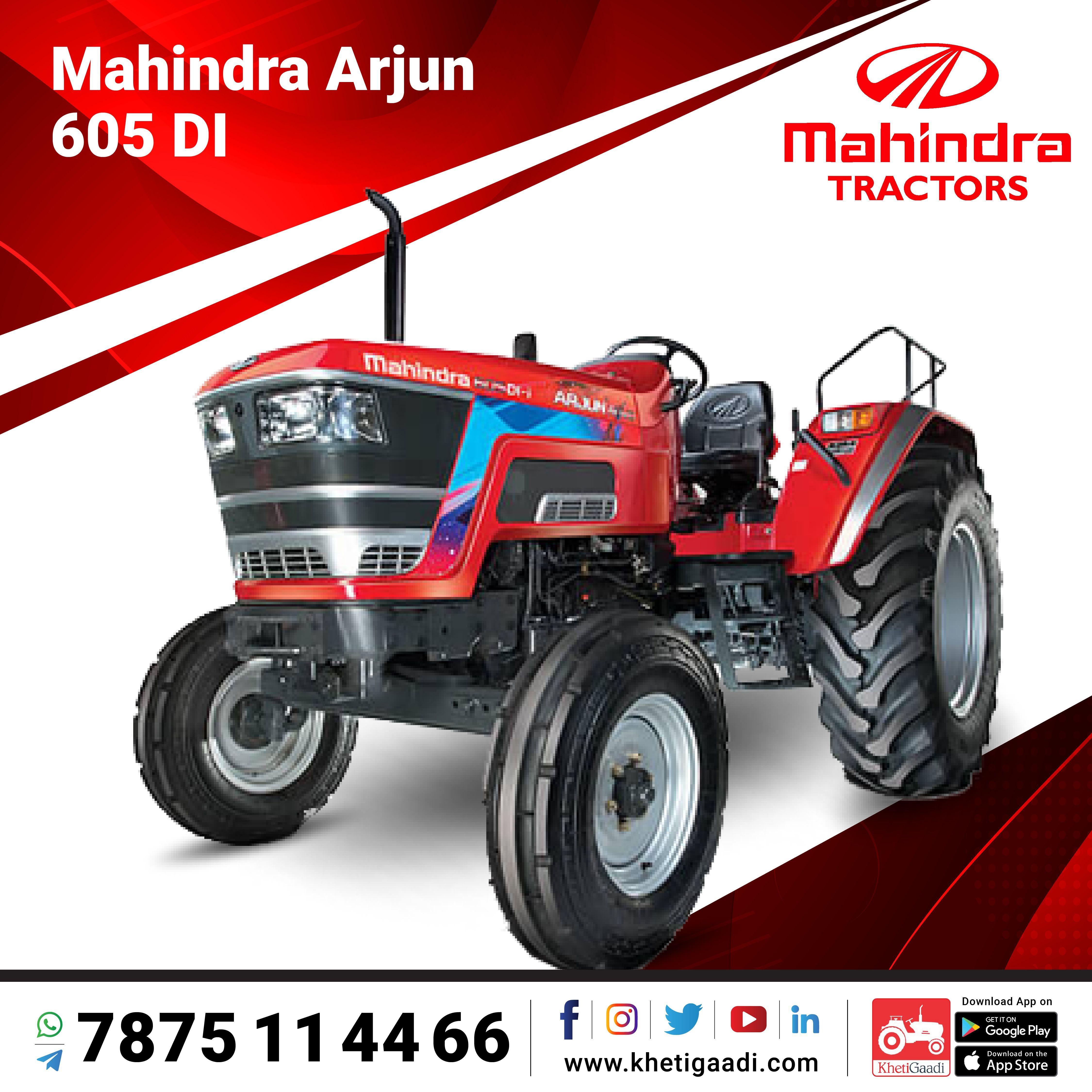 Mahindra Arjun 605 Di In 2021 Tractors Mahindra Tractor New Tractor