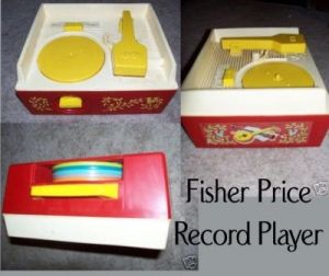 Fisher Price Record Player by Nessa