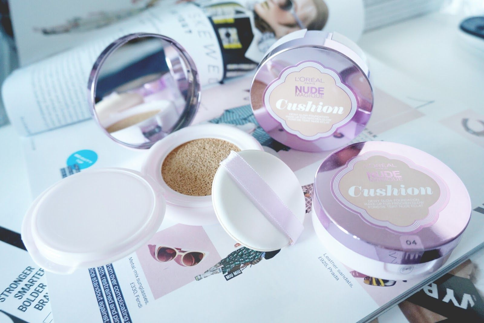 LOreal Nude Magique Cushion Foundation Review & Swatches