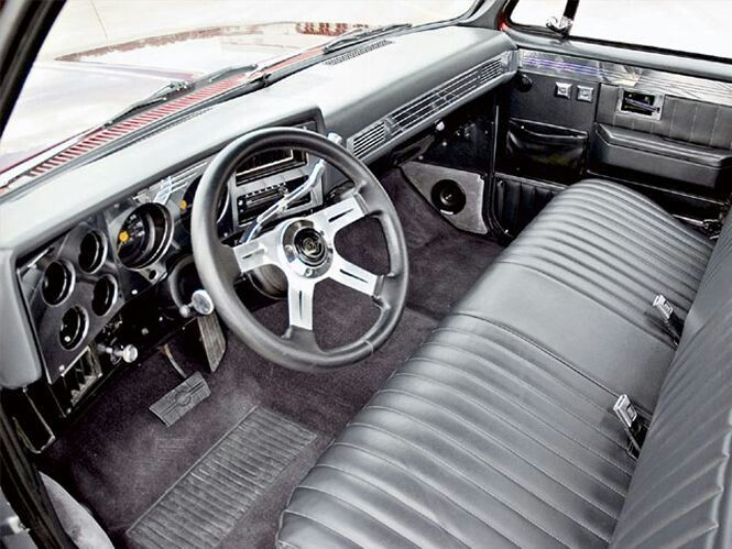 83 C10 Interior C10 Chevy Truck Classic Chevy Trucks Custom Car Interior