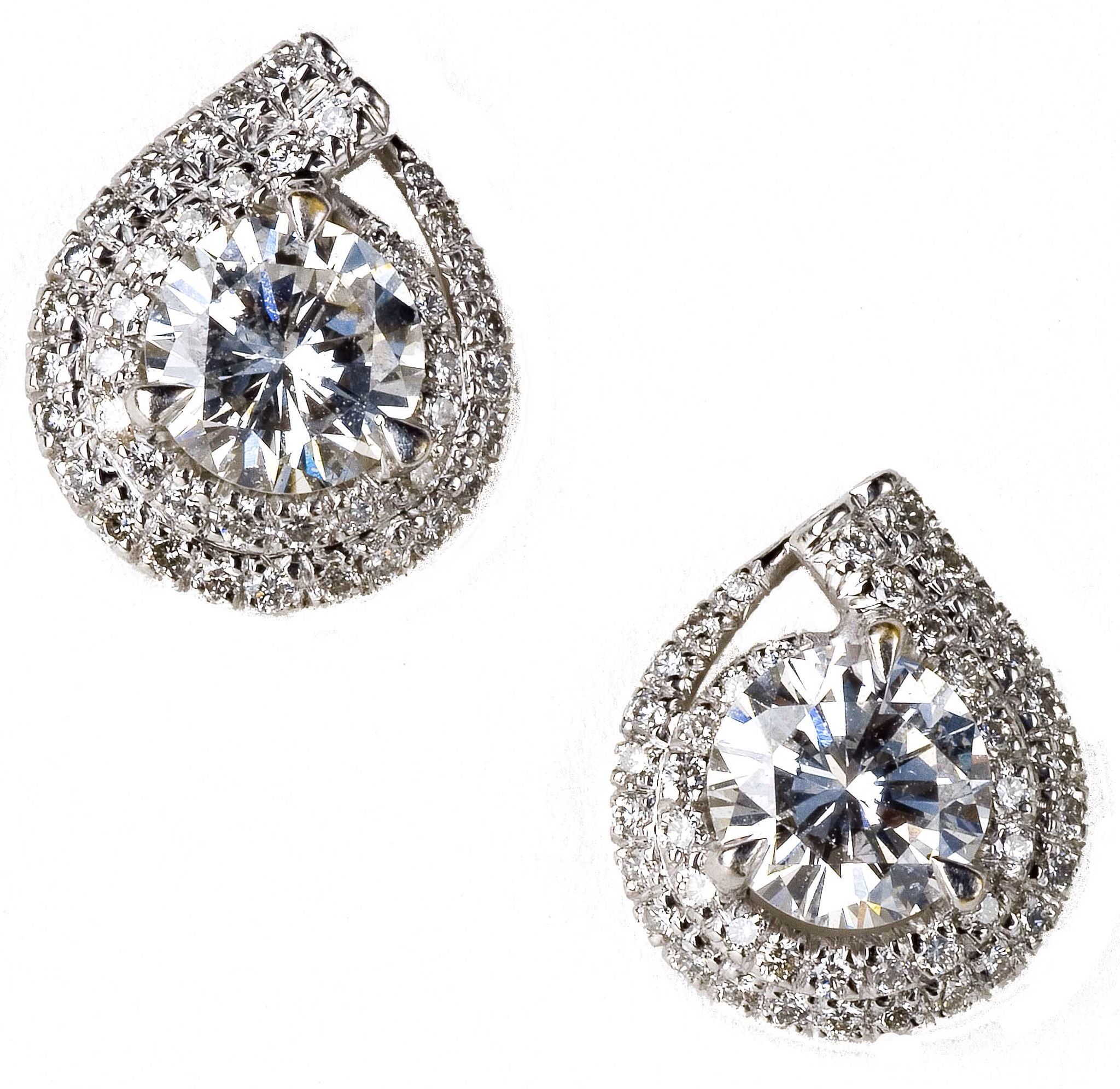 diamond watch carats leverback drop earrings youtube stud vs f
