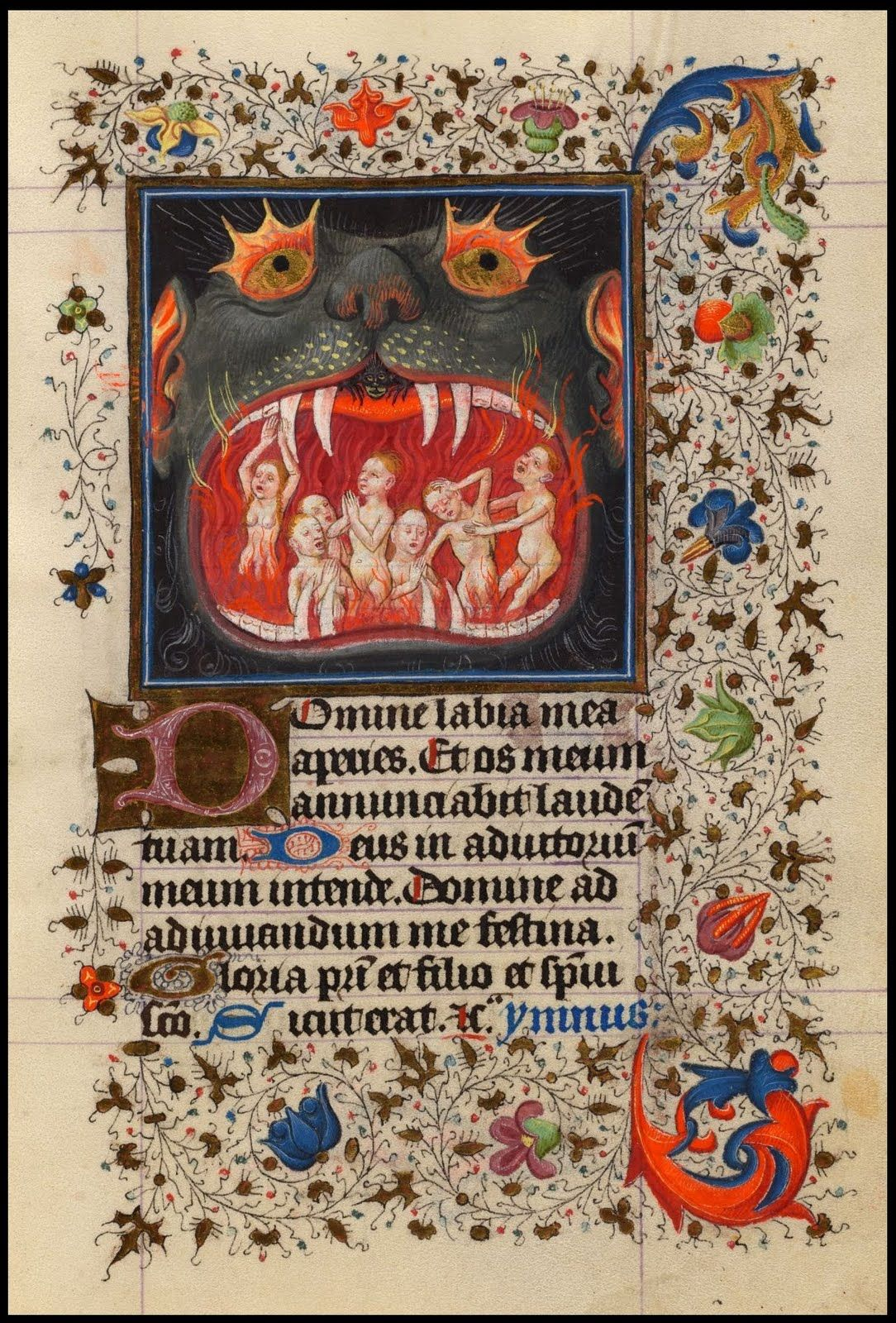 The hours of Catherine of Cleves. Gothic Illuminated Manuscript. Dutch. c., 1440