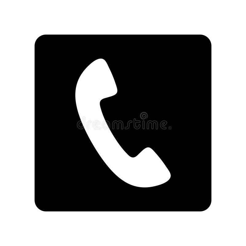 Telefon telephone App Icon Black schwarz iOS