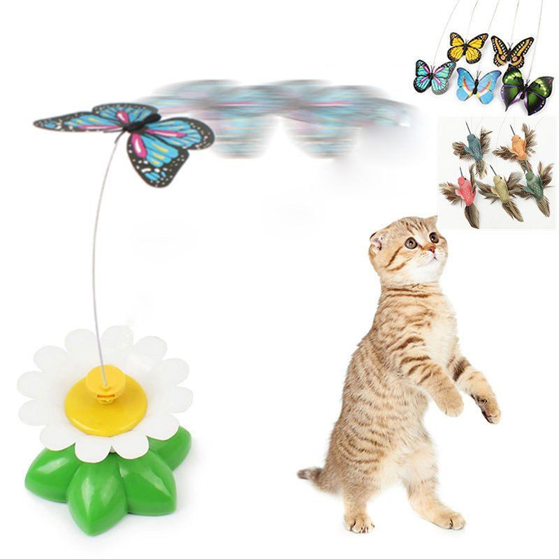 Pet Cat  Play Toy Electric Rotating Play Toys