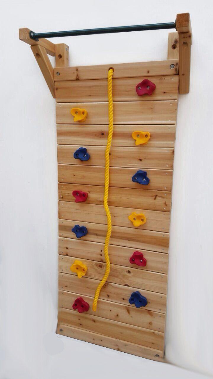 mur d 39 escalade climbing wall sports et loisirs r no salle de jeux pinterest. Black Bedroom Furniture Sets. Home Design Ideas